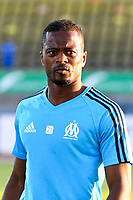Patrice Evra of Marseille during the friendly match between Olympique de Marseille and Fenerbahce on July 15, 2017 in Lausanne, Switzerland. (Photo by Philippe Le Brech/Icon Sport)