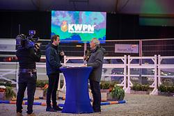 Vrijvogel, De Backer Frederik<br /> KWPN Hengstenkeuring 2021<br /> © Hippo Foto - Dirk Caremans<br />  02/02/2021