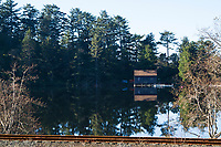 Smith Lake near Rockaway, Oregon