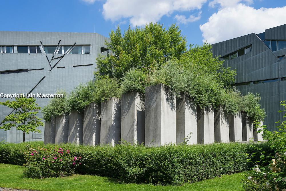 The Garden of Exiles at the Jewish Museum in Kreuzberg Berlin Germany