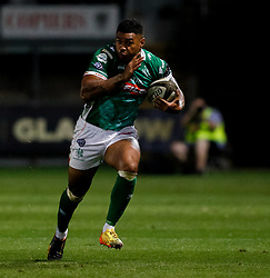 Benetton Treviso's Monty Ioane makes a break<br /> <br /> Photographer Simon King/Replay Images<br /> <br /> Guinness PRO14 Round 1 - Dragons v Benetton Treviso - Saturday 1st September 2018 - Rodney Parade - Newport<br /> <br /> World Copyright © Replay Images . All rights reserved. info@replayimages.co.uk - http://replayimages.co.uk
