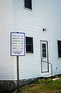 Sign as you come into Friendship, Maine. Friendship is Here!