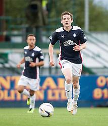 Falkirk's Blair Alston. Falkirk 0 v 2 Rangers, Scottish Championship game played 15/8/2014 at The Falkirk Stadium.