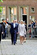 Koning Willem Alexander en Koningin Maxima op provinciebezoek in Groningen.<br /> <br /> King Willem Alexander and Queen Maxima visit the province of  Groningen<br /> <br /> Op de foto:  Bezoek van de Koning en Koningin aan het provinciehuis<br /> <br /> Visit of the King and Queen at the Provincial House