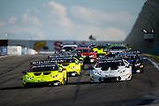 June 25 - 27, 2015: Lamborghini Super Trofeo Round 3-4, Watkins Glen NY. Start of round 3 from Watkins Glen