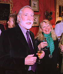 MR JOHN PELLING and MRS ZOE BARCLAY a member of the Barclay family that owns The Ritz Hotel, London, at a reception in London on 5th February 1998.<br /> MFE 13