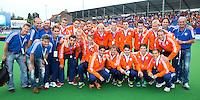 BOOm - De Nederlandse mannen hebben brons gewonnen tijdens het EK hockey. ANP KOEN SUYK