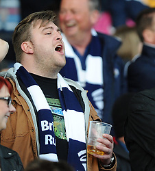 Fans  - Photo mandatory by-line: Joe Meredith/JMP - Mobile: 07966 386802 - 27/05/2015 - SPORT - Rugby - Worcester - Sixways Stadium - Worcester Warriors v Bristol Rugby - Greene King IPA Championship