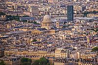 Le Pantheon & Paris Cityscape