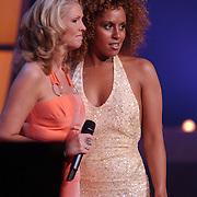 Finale Nationaal Songfestival 2005, winnares Glennis Grace