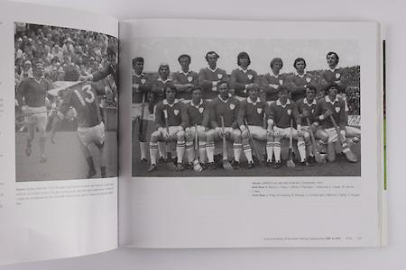 Limerick-All-Ireland Hurling Champions 1973. Back Row: R Bennis, L Foley, J O'Brien, P Hartigan, J McKenna, E Cregan, W Moore, E Rea. Front Row: S Foley, M Dowling, B Hartigan, E Grimes (capt), P Bennis, F Nolan, S Horgan.