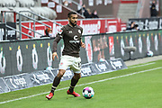 Fussball: 2. Bundesliga, FC St. Pauli - Fortuna Düsseldorf 0:3, Hamburg, 20.12.2020<br /> Daniel-Kofi Kyereh (St. Pauli)<br /> © Torsten Helmke