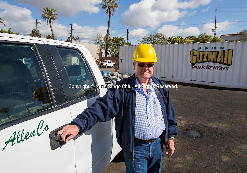 Peter Allen, founder of AllenCo Energy Co. (Photo by Ringo Chiu/PHOTOFORMULA.com)
