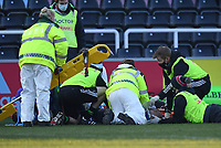 Rugby Union - 2020 / 2021 Gallagher Premiership - Round 12 - Harlequins vs Northampton Saints - The Stoop<br /> <br /> Harlequins' Aaron Morris receiving medical attention during the game.<br /> <br /> COLORSPORT/ASHLEY WESTERN
