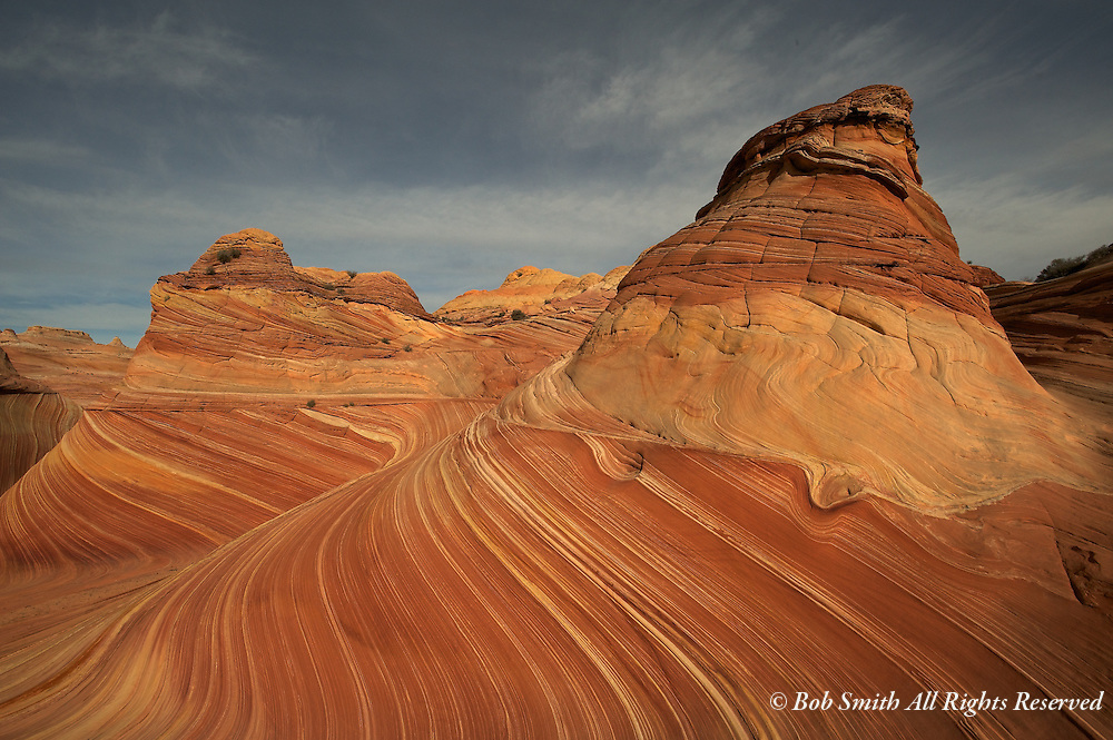 North Coyote Butte, The Wave formation, Arizona (20110118)