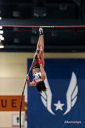 2020 USATF Indoor Championship<br /> Albuquerque, NM 2020-02-15<br /> photo credit: © 2020 Kevin Morris<br /> womens pole vault, adidas