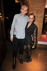 ALICE DELLAL and SULLIVAN CAYLESS at the opening of Loewe's new boutique at 125 Mount Street, London on 23rd March 2011.