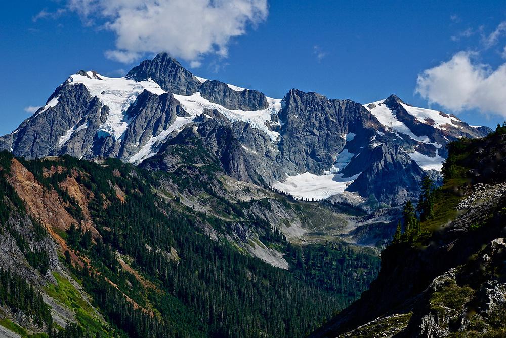 NW Washington state, Mount Shuksan, North Cascades National Park