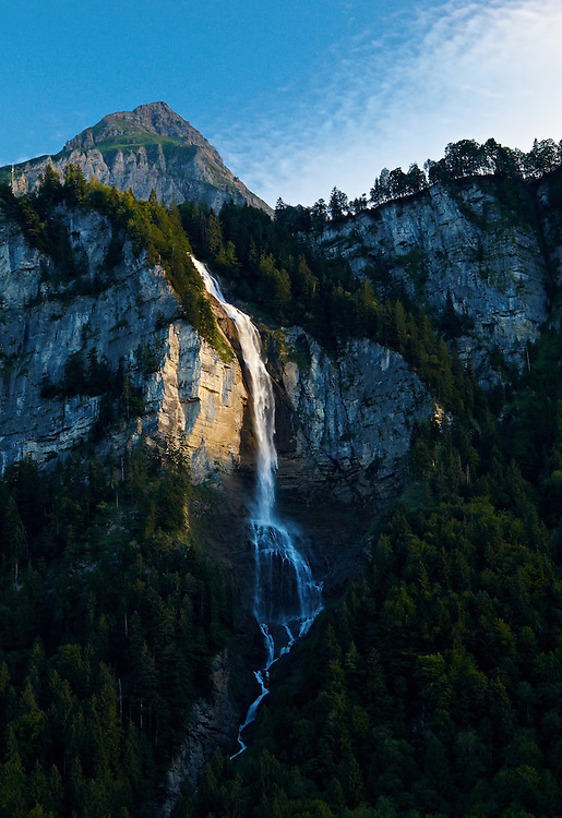 Switzerland - Oltschibach waterfall