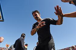 April 7, 2018 - Benevento, Italy - Gianluigi Buffon of Juventus during the Serie A match between Benevento and Juventus at Ciro Vigorito Stadium, Benevento, Italy on 7 April 2018. (Credit Image: © Giuseppe Maffia/NurPhoto via ZUMA Press)