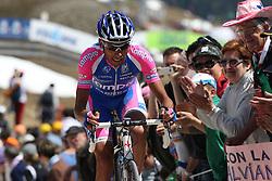25/05/2010 Etape 16 - 93? GIRO D'ITALIA - Tour d'Italie - Contre la montre individuelle 12,9 km. San Vigilio Di Marebbe - Plan De Corones, Italy. .© Photo Pierre Teyssot / Sportida.com.SPEZIALETTI Alessandro.ITA.LAM during the time trial, 16th stage on 25/05/2010, 2010 in Plan de Corones, Kron Platz, Italy.