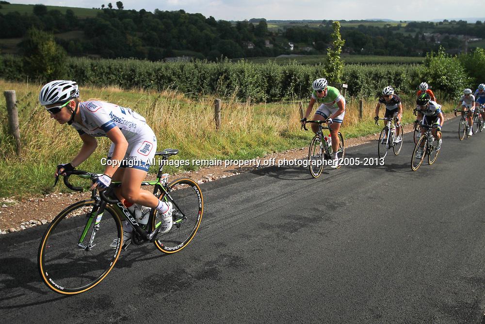 Boels Rental Ladies Tour Bunde-Valkenburg Amy Pieters, Kirstne Wil on the Eyserbos