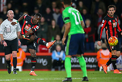 Max Gradel of Bournemouth shoots - Mandatory by-line: Jason Brown/JMP - Mobile 07966 386802 01/03/2016 - SPORT - FOOTBALL - Bournemouth, Vitality Stadium - AFC Bournemouth v Southampton - Barclays Premier League