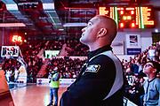Saverio Lanzarini<br /> Banco di Sardegna Dinamo Sassari - Dolomiti Energia Trentino Trento<br /> LBA Legabasket Serie A 2019-2020<br /> Sassari, 25/01/2020<br /> Foto L.Canu / Ciamillo-Castoria