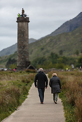 THEMENBILD - Blick auf das Glenfinnan Monument, Loch Shiel, Schottland, aufgenommen am 13. Juni 2015 // View of the Glenfinnan Monument at Loch Shiel, Scotland on 2015/06/13. EXPA Pictures © 2015, PhotoCredit: EXPA/ JFK