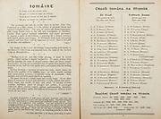 All Ireland Senior Hurling Championship Final,.Programme,.05.09.1954, 09.05.1954, 5th September 1954,.Cork 1-9, Wexford 1-6,.Minor Dublin v Tipperary, .Senior Cork v Wexford,.Croke Park,..Dublin Minor Team, S O'Neill, C Moore, T O'Neill, S O'Dwyer, M Meagher, B Boothman, P Whelan, T Bracken, P McGuirk, A Kavanagh, U Bell, P Delaney, P Hyland, E Kelly, P Farnham, Substitutes, M Bohane, S Higgins, M Mannion, P Feeney, C Feeley, ..Tipperary Minor Team, S Doyle, M Cleary, D O'Shea, C Molony, R Ryan, R Reidy, L Quinn, L Mahoney, M Burns, S Murphy, T Gouldsborough, L O'Donovan, S Kenny, M Stapleton, L. Connolly, Substitutes, S Hyland, C Aherne, C Darmody, P Ryan, T Breen,