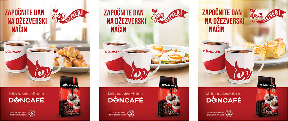 Food photography for shopper campaign for Doncafe 2017. Client: Kreativaunlimited.com