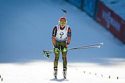 Laura Dahlmeier (GER) competes during Women 10 km Pursuit at day 3 of IBU Biathlon World Cup 2015/16 Pokljuka, on December 19, 2015 in Rudno polje, Pokljuka, Slovenia. Photo by Ziga Zupan / Sportida