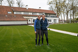 Toon Janssens, Annelies Van Looveren, Louis Van Gestel<br /> Stal Gestelhof - Meerhout 2017<br /> © Hippo Foto - Dirk Caremans<br /> 12/04/17