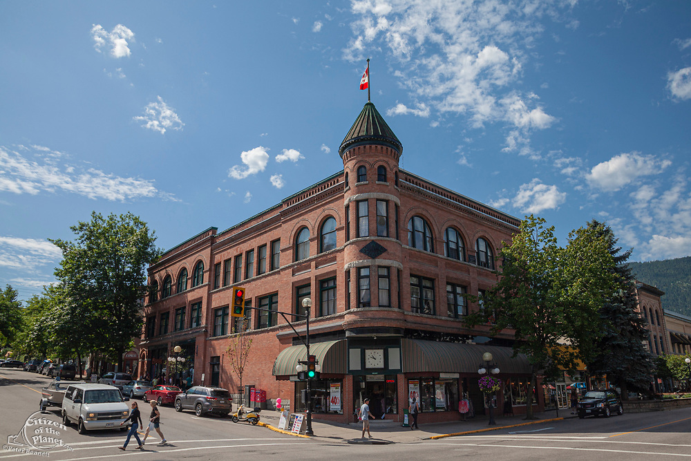 Baker Street, Nelson, West Kootenay, British Columbia, Canada