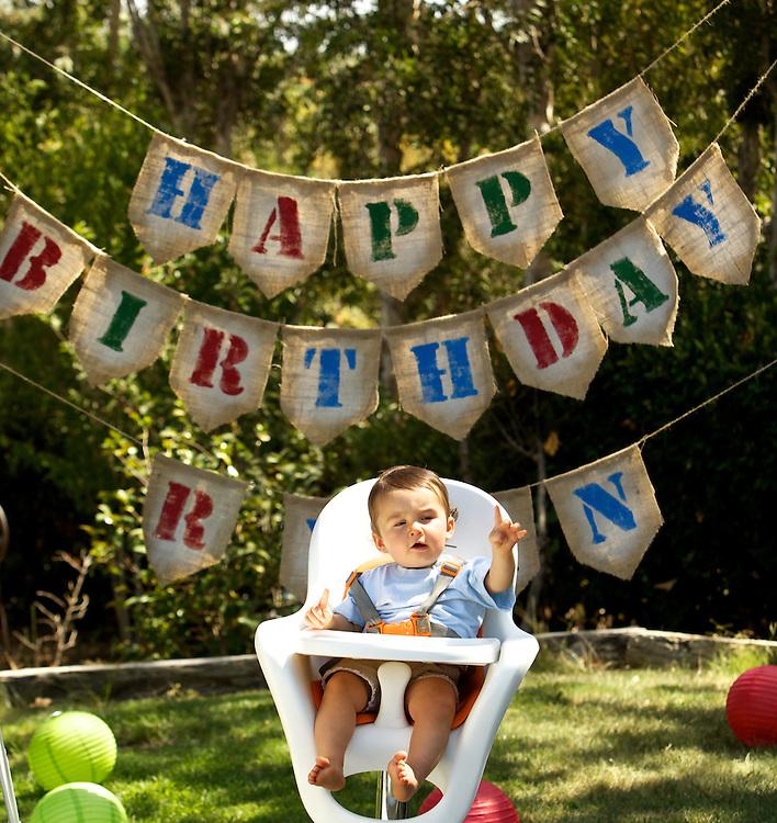 1st. Birthday party