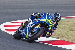 June 9, 2017 - Barcelona, Catalonia, Spain - MotoGP - Sylvain Guintoli(Fra), Team Suzuki Ecstar during the MotoGp Grand Prix Monster Energy of Catalunya, in Barcelona-Catalunya Circuit, Barcelona on 9th June 2017 in Barcelona, Spain. (Credit Image: © Urbanandsport/NurPhoto via ZUMA Press)