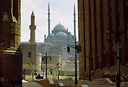 Ottoman-style Muhammad 'Ali Mosque, Alabaster Mosque, in Cairo, Egypt