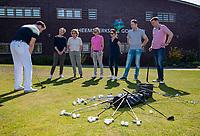 HEEMSKERK - NVG / NGF / Open Golfdagen / Heemskerkse  Golf Club.     kennismaken met golf. putten, puttinggreen, COPYRIGHT KOEN SUYK