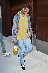 Travis Scott, out and about in NoHo, New York City on September 13, 2016 (Photo by Al Pastor/SIPA) *** Please Use Credit from Credit Field ***