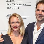 NLD/Amsterdam/20160206 - Premiere balletvorstelling Mata Hari, Sophie van Winden en .......