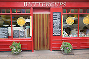 Buttercups cafe in the town of Cromer, north Norfolk coast, England