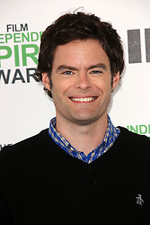 Bill Hader at the 2014 Film Independent Spirit Awards Arrivals, Santa Monica Beach, Santa Monica, United States, Saturday, 1st March 2014. Picture by Hollywood Bubbles / i-Images<br /> UK ONLY