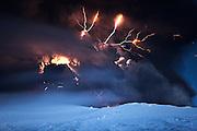 Cracks of Doom<br /> Lightning above the erupting volcano Eyjafjallajökull in south Iceland, May 2010