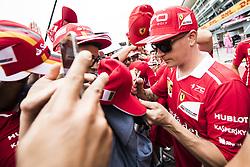 August 31, 2017 - Monza, Italy - Motorsports: FIA Formula One World Championship 2017, Grand Prix of Italy, ..#7 Kimi Raikkonen (FIN, Scuderia Ferrari) (Credit Image: © Hoch Zwei via ZUMA Wire)