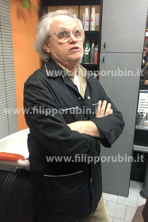 BARBIERE AMICO DI BINDINI<br /> MORTO INVESTITO DA AUTO GILBERTO BINDINI CASSANA