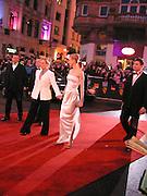 Meryl Streep and Nicole Kidman, Arriving for the Baftas, Leicester Sq. 23  February 2003. © Copyright Photograph by Dafydd Jones 66 Stockwell Park Rd. London SW9 0DA Tel 020 7733 0108 www.dafjones.com