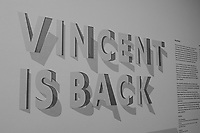 """""""Vincent is Back"""" Van Gogh Exhibit at the Kröller-Müller museum and sculpture garden. Hoge Veluwe National Park in Otterlo, Netherlands. Image taken with a Leica X2 camera (ISO 400, 24 mm, f/3.5, 1/80 sec). In camera B&W."""