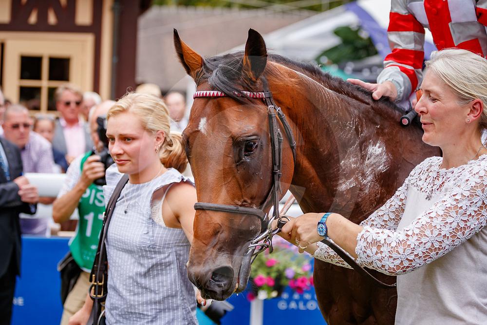 Knight to Behold (O. Murphy) wins Prix Guillaume d'Ornano Haras du Logis Saint-Germain Gr. 2  in Deauville, France  15/08/2018, photo: Zuzanna Lupa