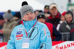 Tomaz Lovse, president of SZS during Normal Hill Individual Competition at FIS World Cup Ski jumping Ladies Ljubno 2012, on February 11, 2012 in Ljubno ob Savinji, Slovenia. (Photo By Vid Ponikvar / Sportida.com)