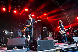 Ash on the main stage. Saturday at Party at the Palace 2017, Linlithgow.